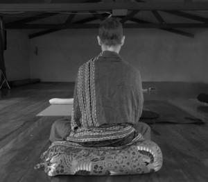 Meditating at Gunnebah December 2013 a